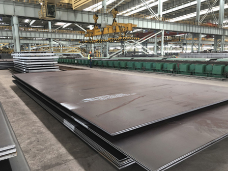 S355J2WP Hot Rolled Plate