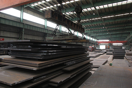 A588 weathering resistance steel plate is highly resistant to atmospheric corrosion