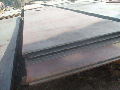 What is the thickness of WTSt 37-3 grade steel plate in general