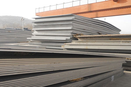ASTM A709 50W steel sheet process and parameters