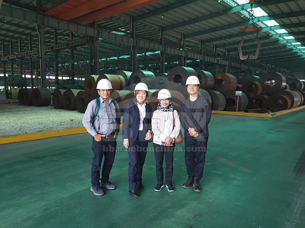 09CuPCrNi-A Steel Coils Supplied to Indonesia